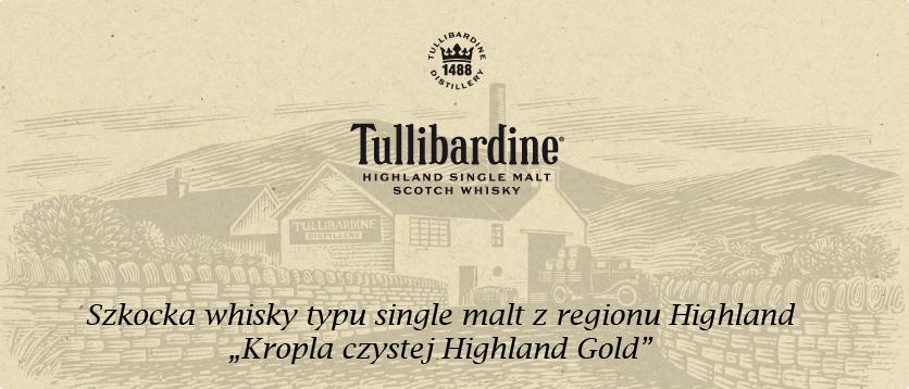 Tullibardine, Szkocja, szkocka whisky, Singlemalt, destylarnia, Highland