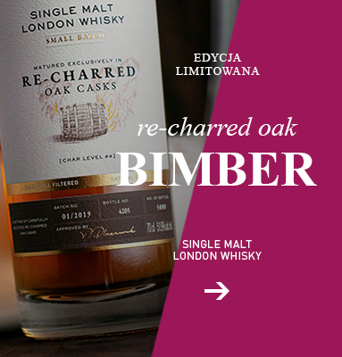 Bimber Re-charred oak