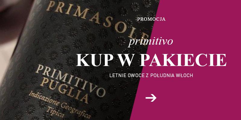 Primitivo promocja 6+1