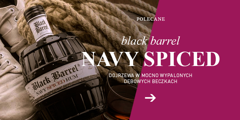 Black Barrel Navy Spiced
