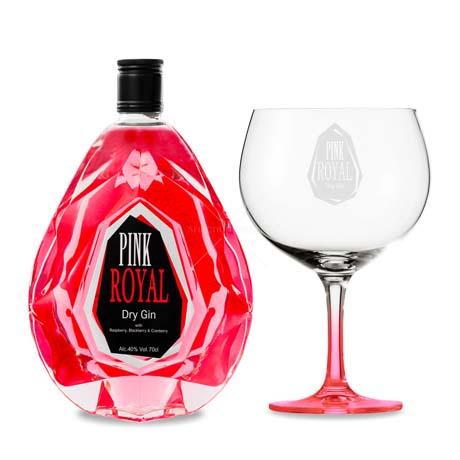 GIN Pink Royal [zestaw z kielichem]