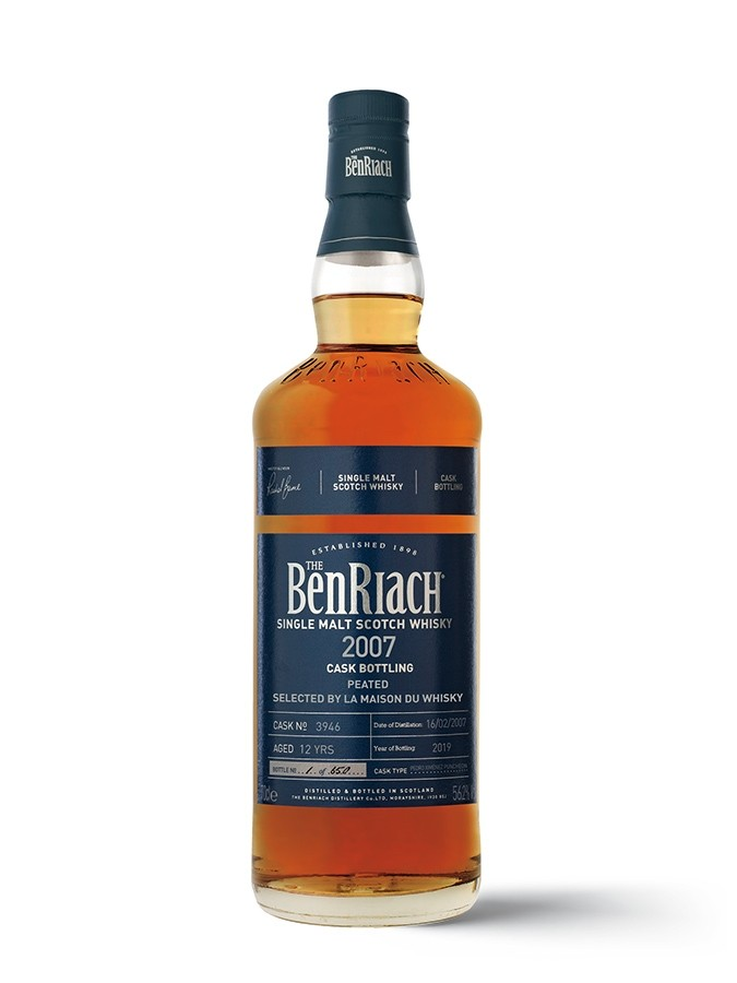 Benriach 12YO 2007 Peated Sherry PX