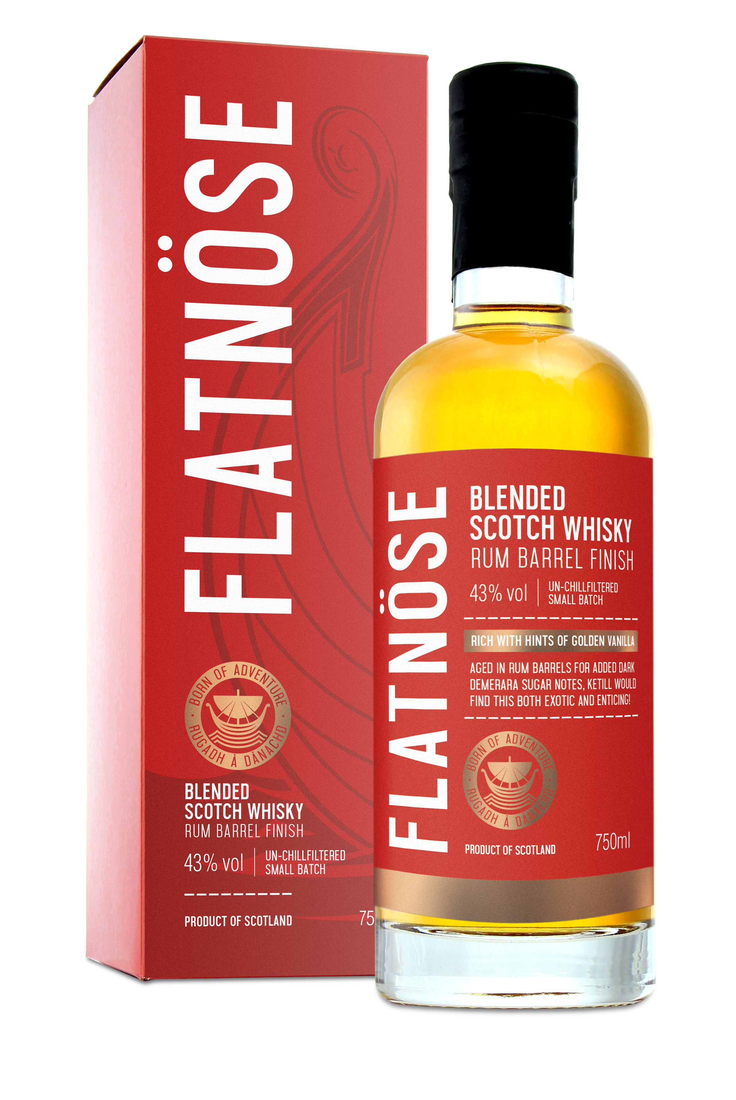 Flatnose Blended Whisky Rum Finish