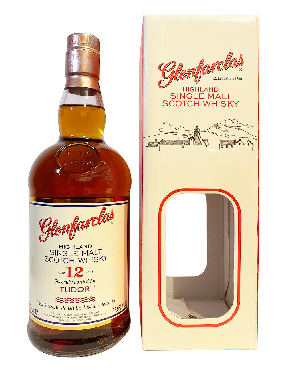Glenfarclas 12YO Cask Strength for TUDOR