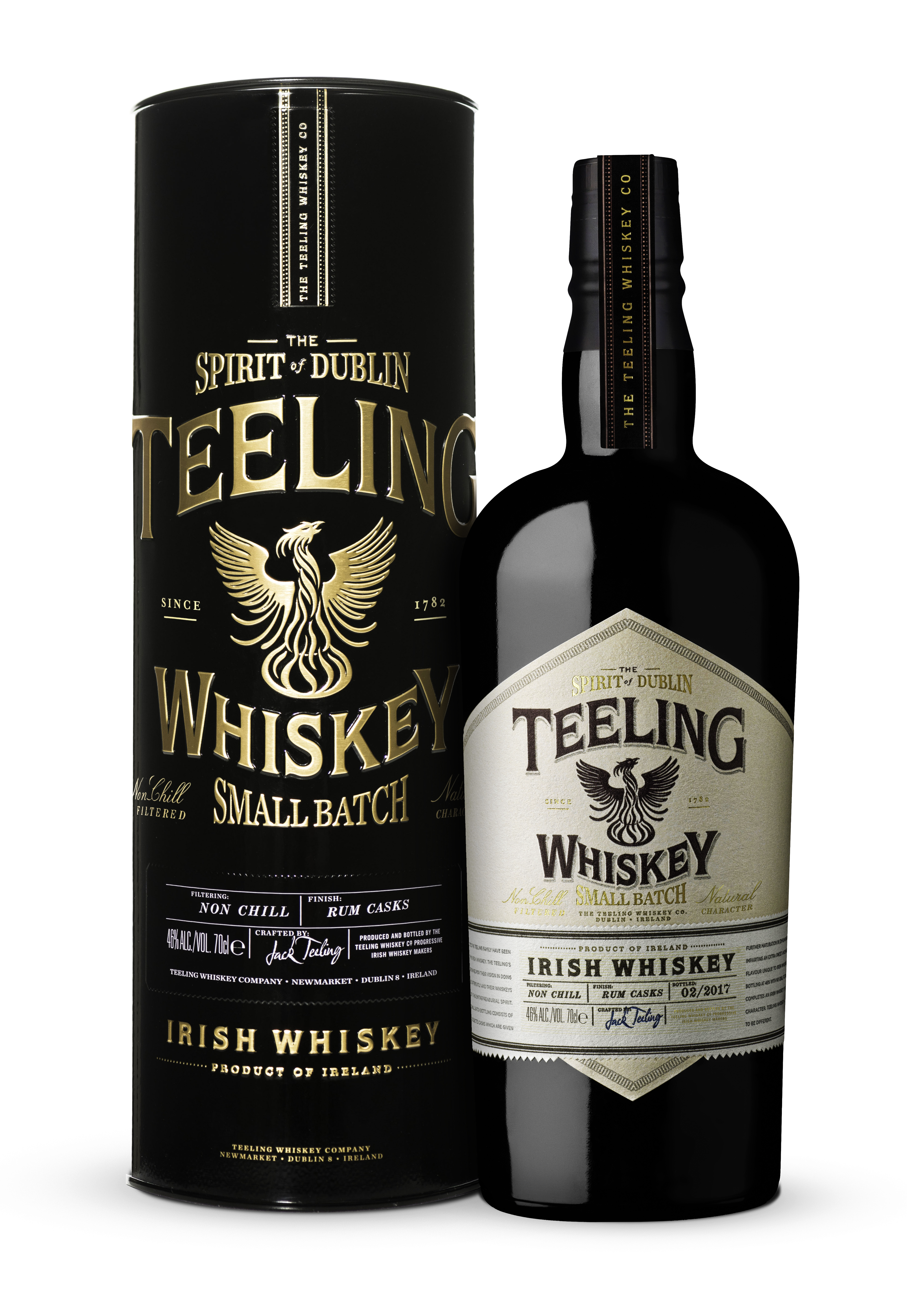 Teeling Small Batch + metalowa puszka