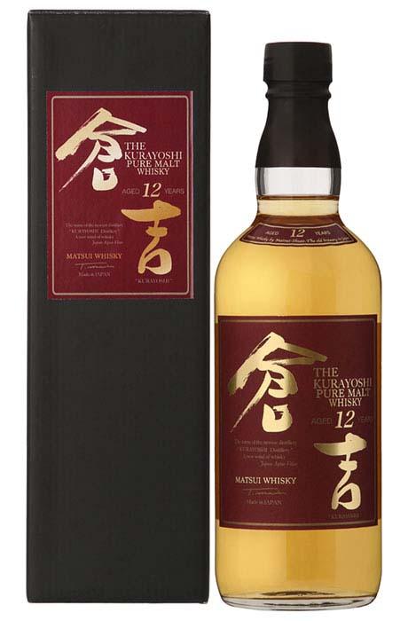 KURAYOSHI Japanese Pure Malt 12YO