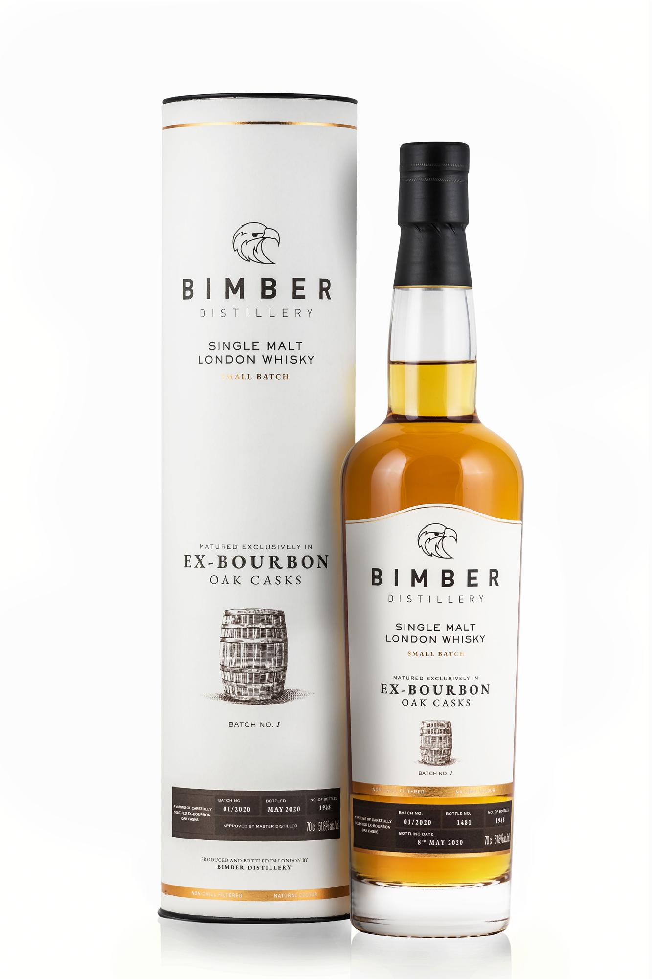 Bimber Ex-Bourbon Batch 1