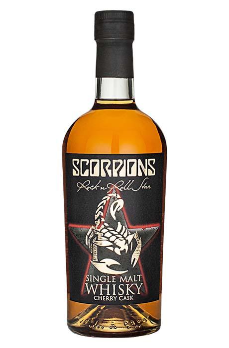 Scorpions Rock´n Roll Star Single Malt Whisky Cherry Cask