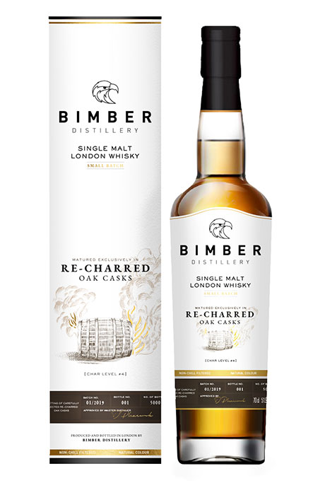 Bimber London SM Whisky Re-charred Oak