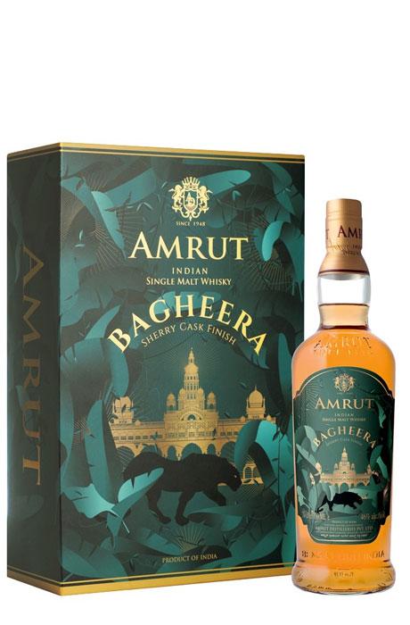 Amrut Bagheera - zestaw ze szklankami