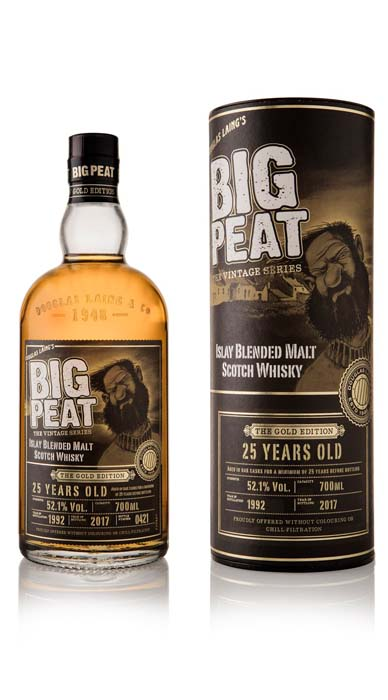 Big Peat 25 Years Old Gold Edition