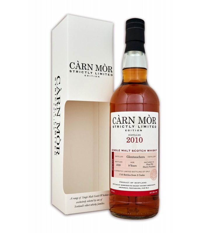 Carn Mor Limited Edition Glentauchers 2010 9YO