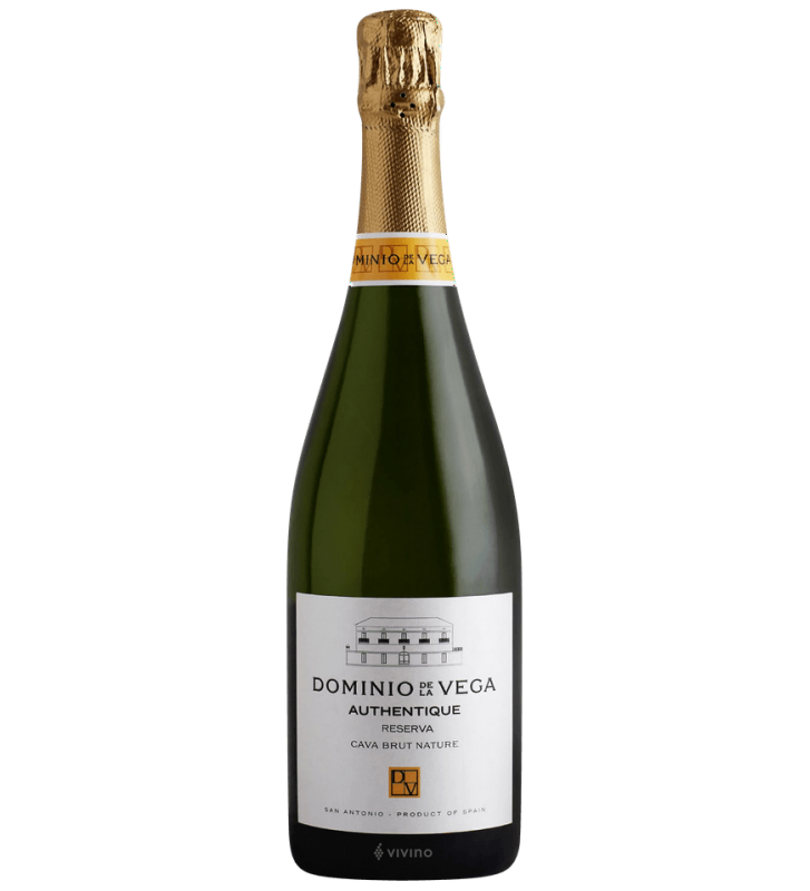 Dominio De La Vega Authentique Cava Brut Nature Reserva 2018
