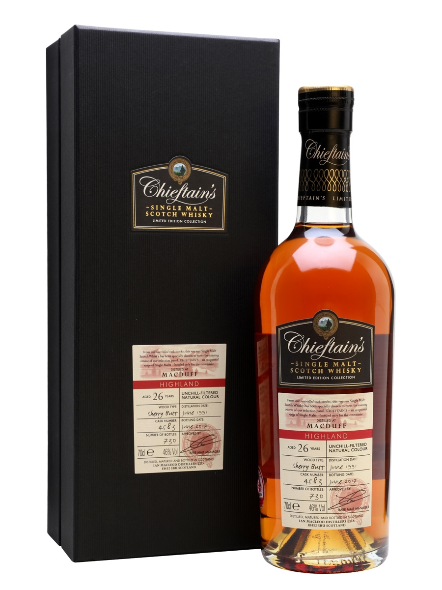 Chieftain's Macduff 26YO