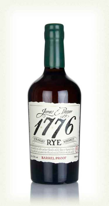 James Pepper 1776 Rye Whisky Barrel Proof