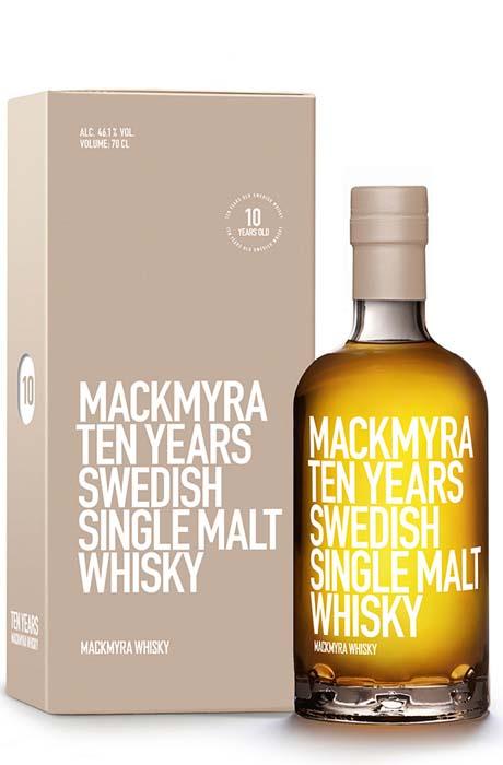 Mackmyra Ten Years (10 YO)