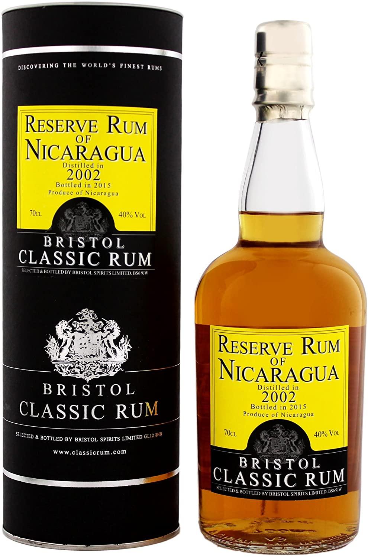 RUM Bristol Res Nicaragua 2002/2015