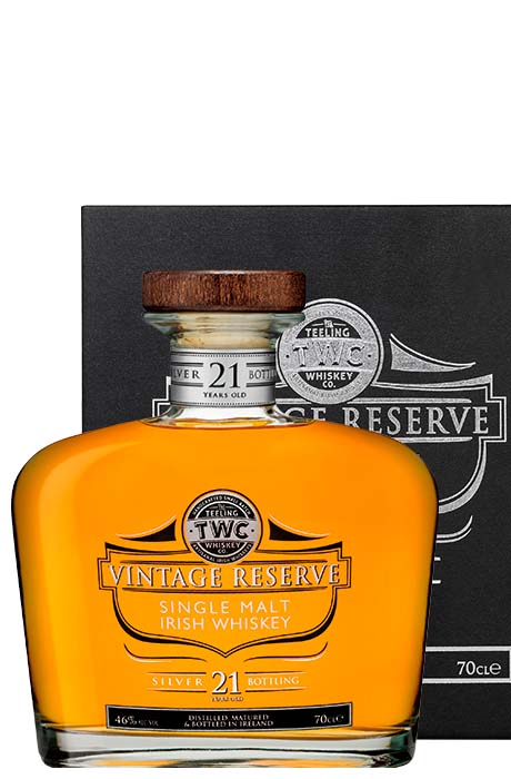 Teeling Aged 21 Years Single Malt Silver