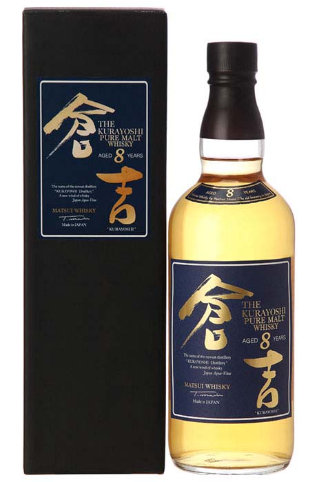 KURAYOSHI Japanese Pure Malt 8YO