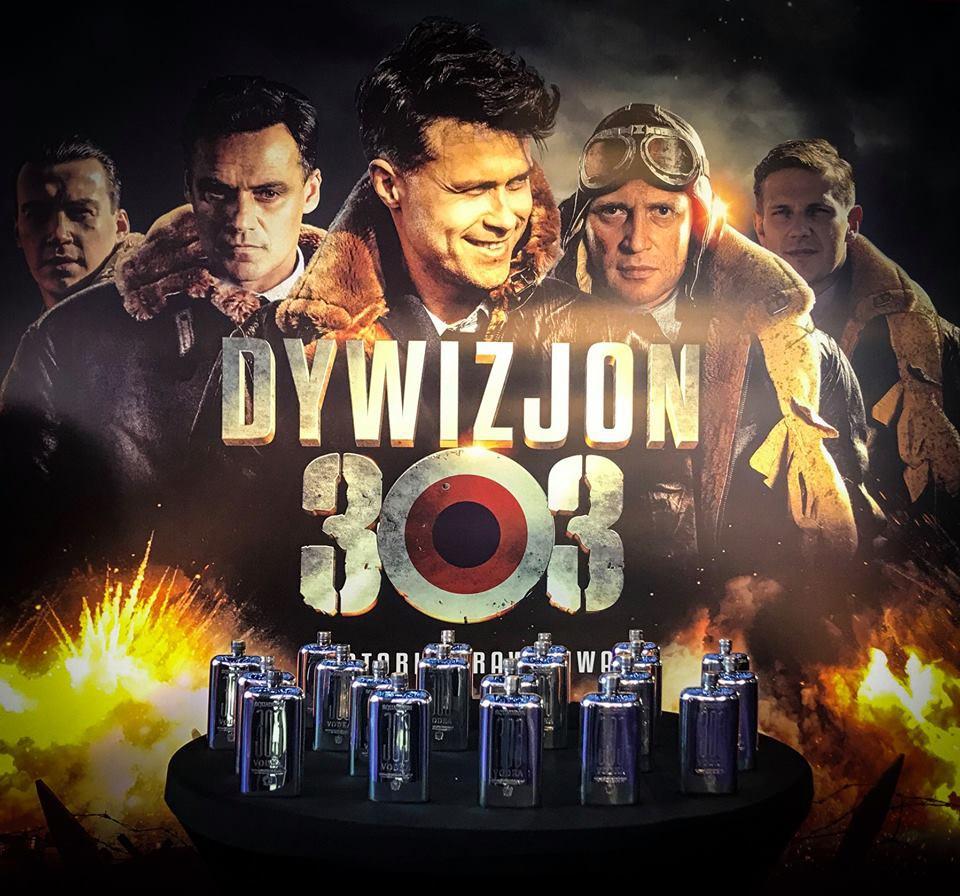 Wódka Squadron 303 wspiera premierę filmu Dywizjon 303