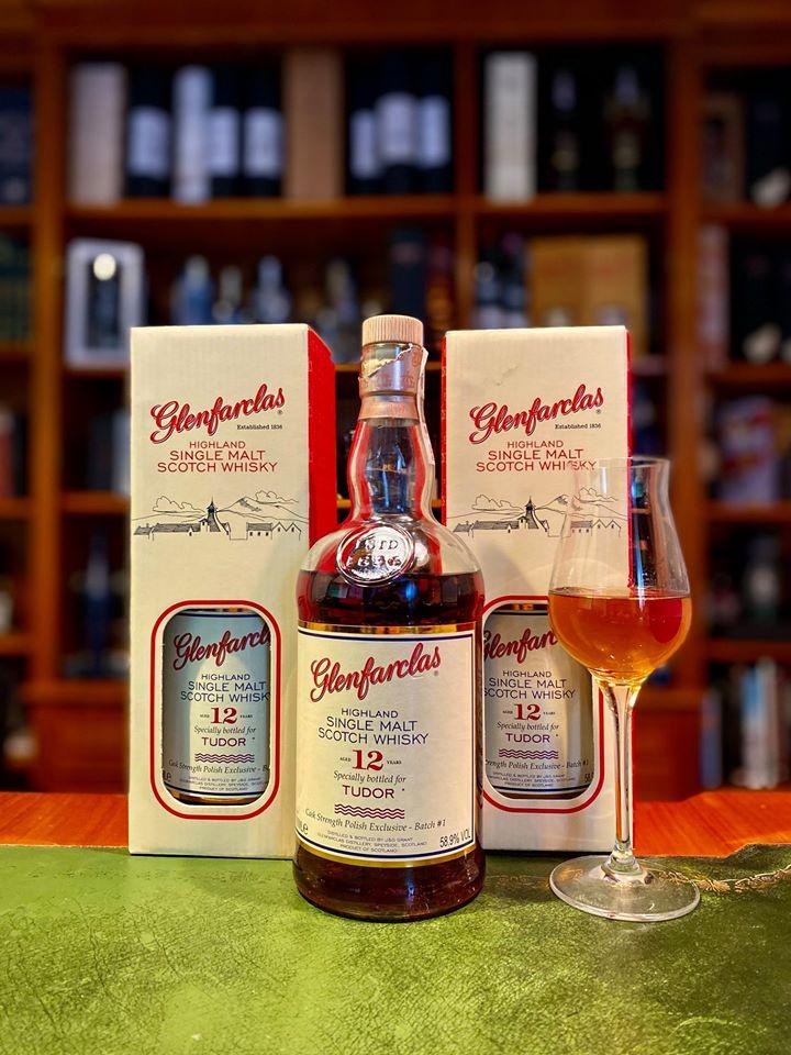 Premiera whisky Glenfarclas 12YO cask strength
