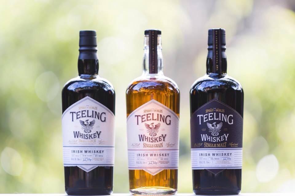 Dzień Świętego Patryka i degustacje Teeling whiskey.