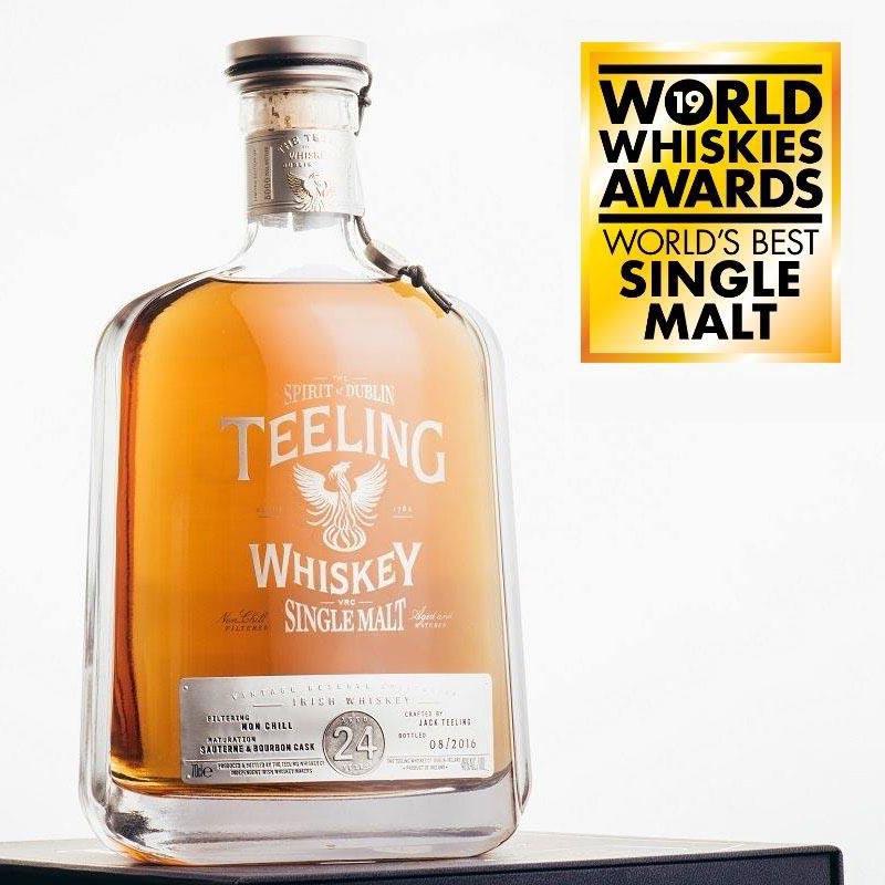 Teeling 24 YO Najlepszą whisky single malt na świecie!
