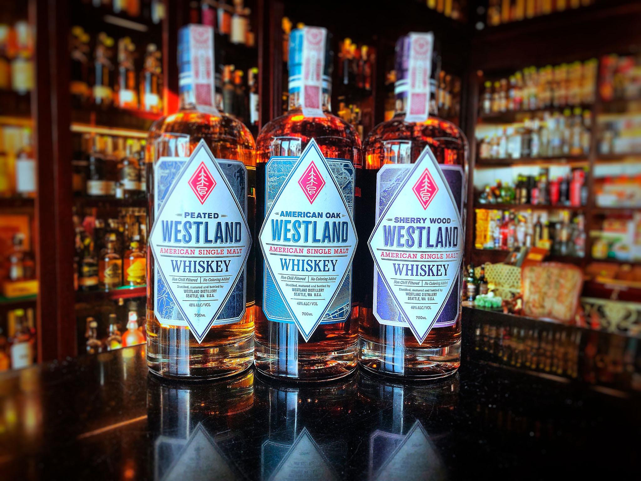 Westland single malt whisky!