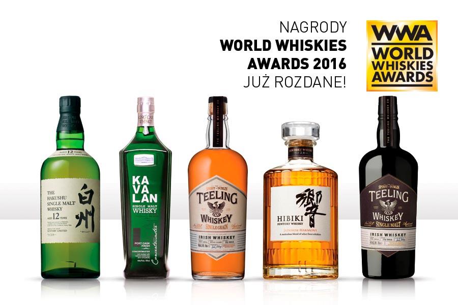 Nagrody World Whiskies Awards 2016 już rozdane.