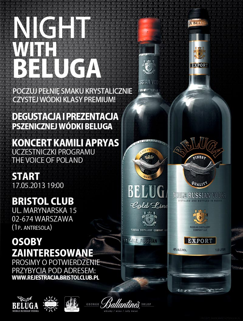 Night with Beluga