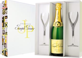 Joseph Perrier -w szampańskim nastroju...