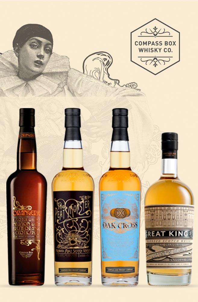 Artystyczne kompozycje whisky - Compass Box