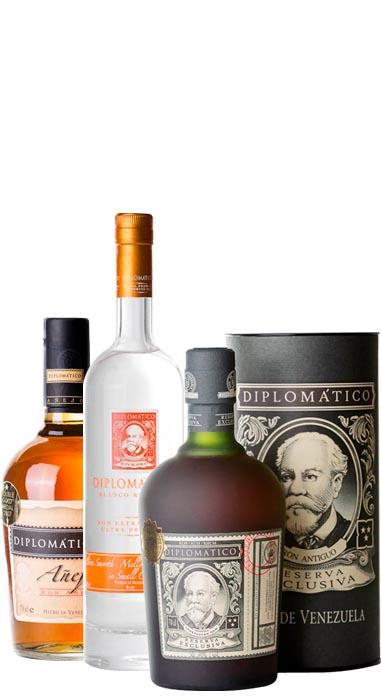 Wenezuelskie trunki -Rum Diplomatico