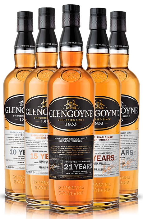 Whisky o krystalicznym destylacie - Glengoyne!
