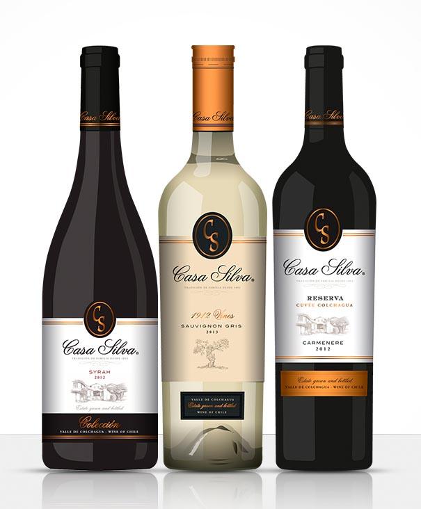 Degustacja win chilijskich Casa Silva / WSTĘP 30 zł