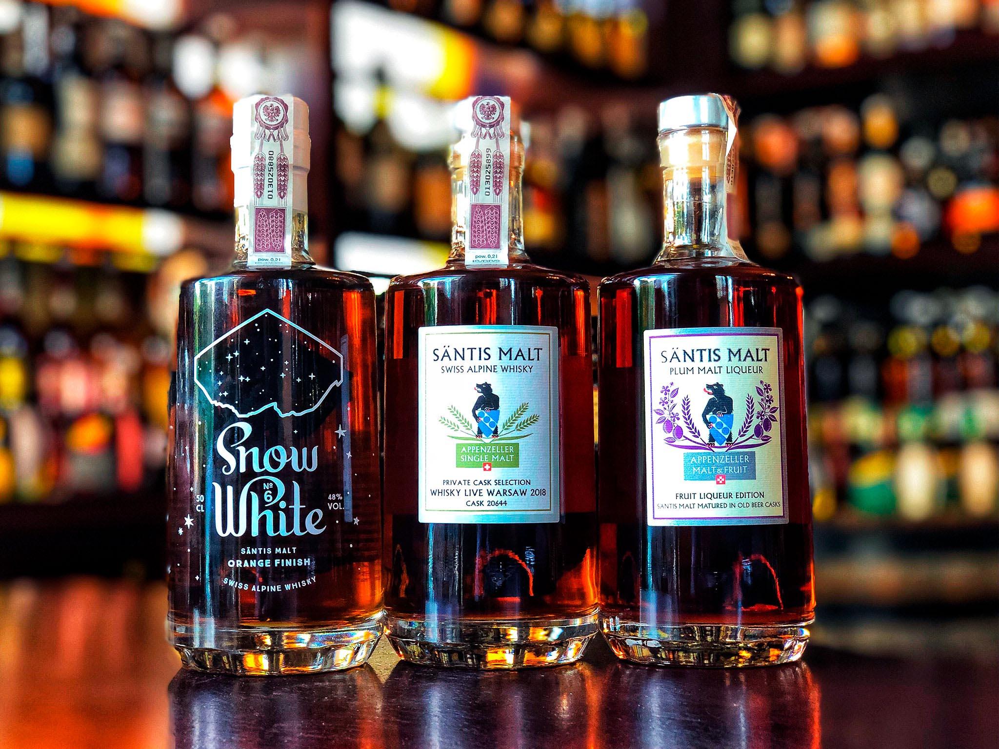 Santis Malt - Słodyczą płynąca whisky!
