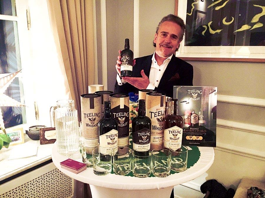 Teeling Whiskey w rezydencji ambasadora Irlandii.