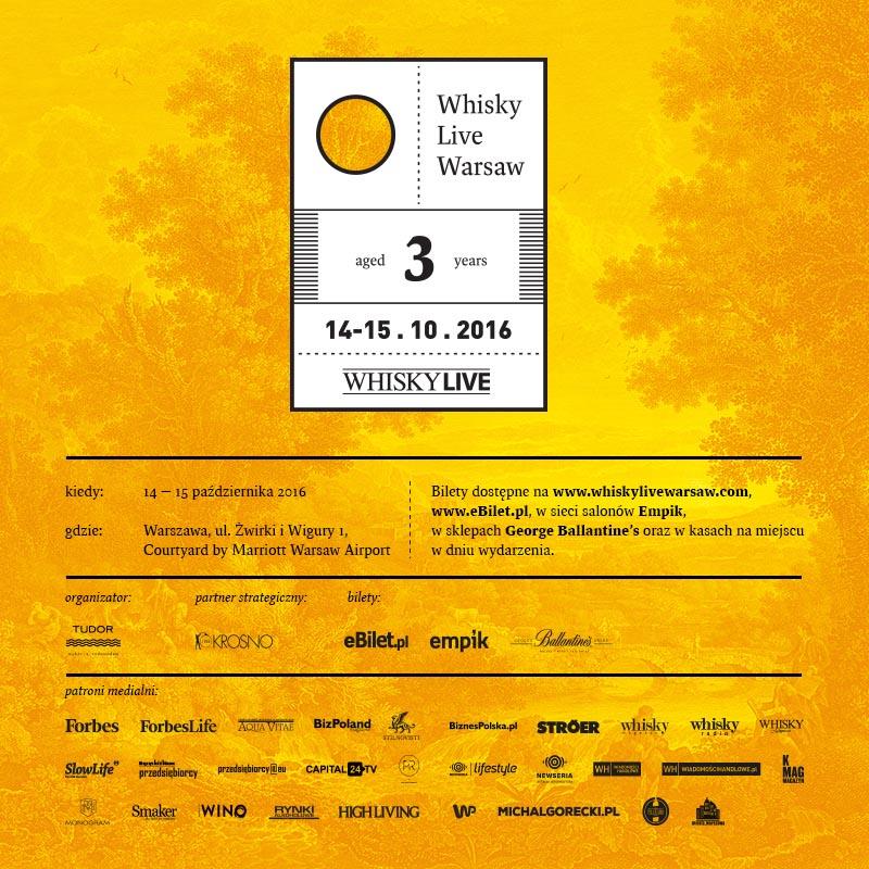 Whisky Live Warsaw 2016 — w dwa dni dookoła świata!
